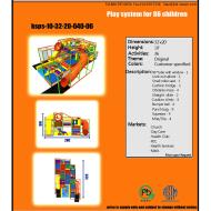 Indoor Playground Design: Budget: $27,000-$45,000 Ages: 3-8