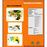 Indoor Playground Design: Budget: $25,000-$45,000 Ages: 3-12