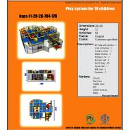 Indoor Playground Design: Budget: $27,000-$44,000 Ages: 3-12