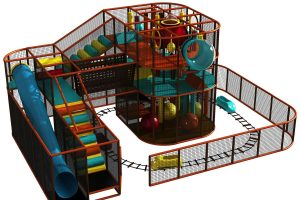 indoor playground multiple attractions