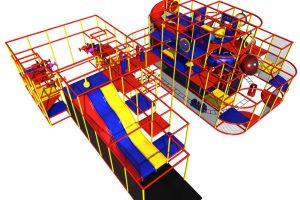 handcar foam ball shooters playground