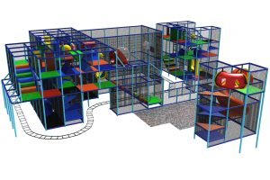 basketball court playground system