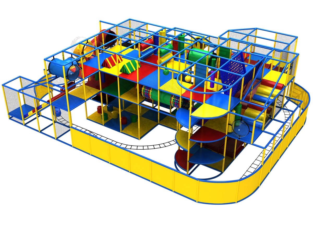 Commercial indoor playground equipment for kids toddlers for Indoor playground design ideas