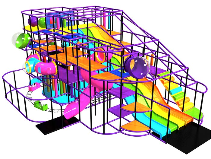 Indoor Playground System, one of thousands of configurations