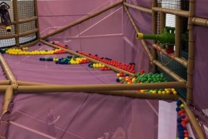 Kid Steam Ball Pit Playground Equipment
