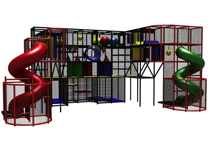 safe indoor playground designs cost equipment