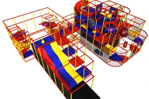 handcar foam ball shooters playground