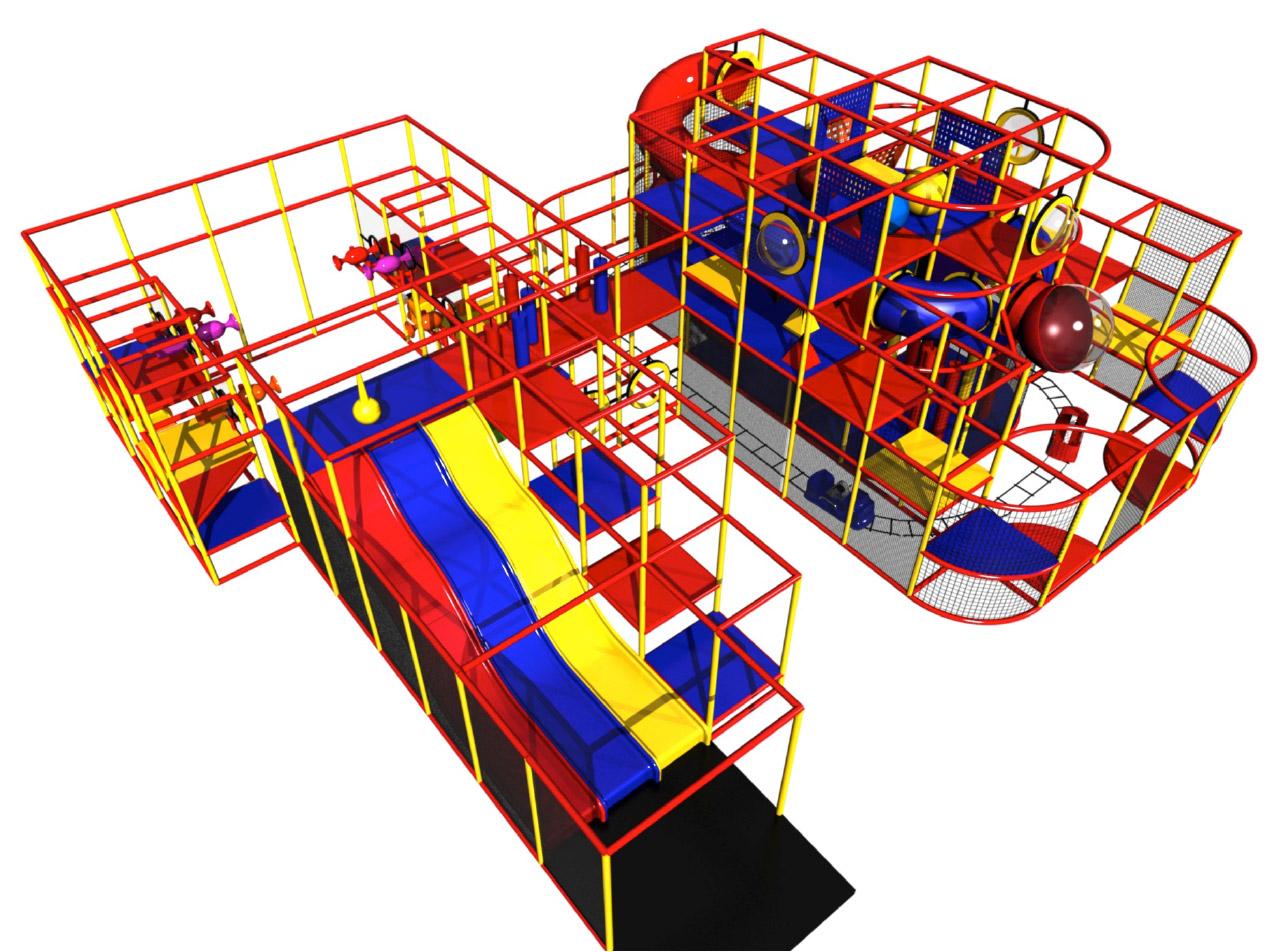 Children Commercial Indoor Playground Equipment Kid Steam