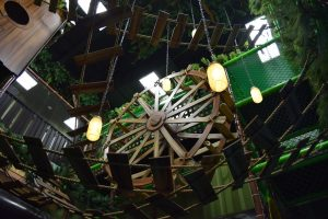 Graphic Themed Indoor Playground Jungle