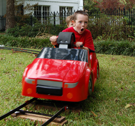 custom hand cars race car kid