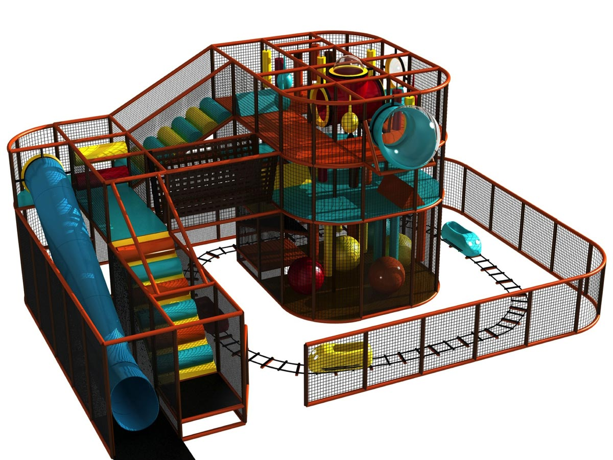 Safe indoor playground designs cost equipment for Indoor playground design ideas