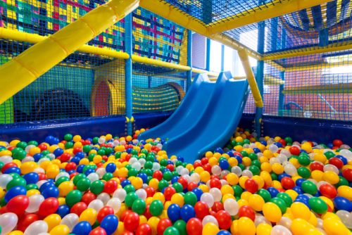 commercial indoor play structure
