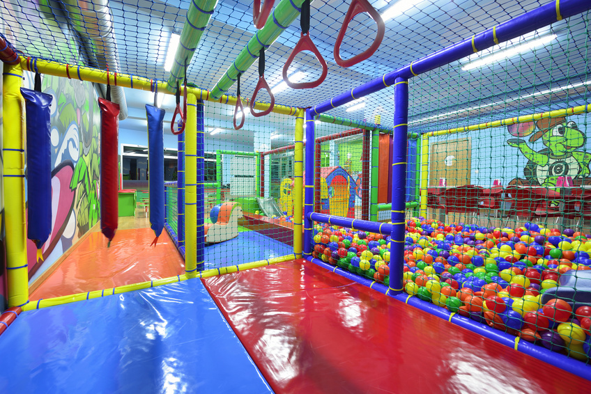 commercial indoor jungle gym